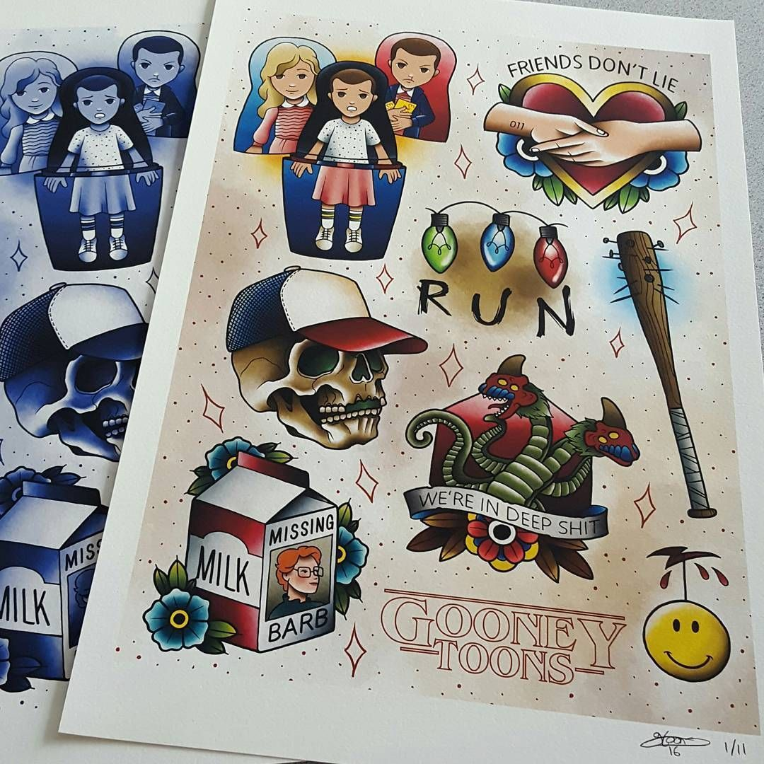 New Stranger Things Flash Sheets Are Up For Pre Order Now On Desain