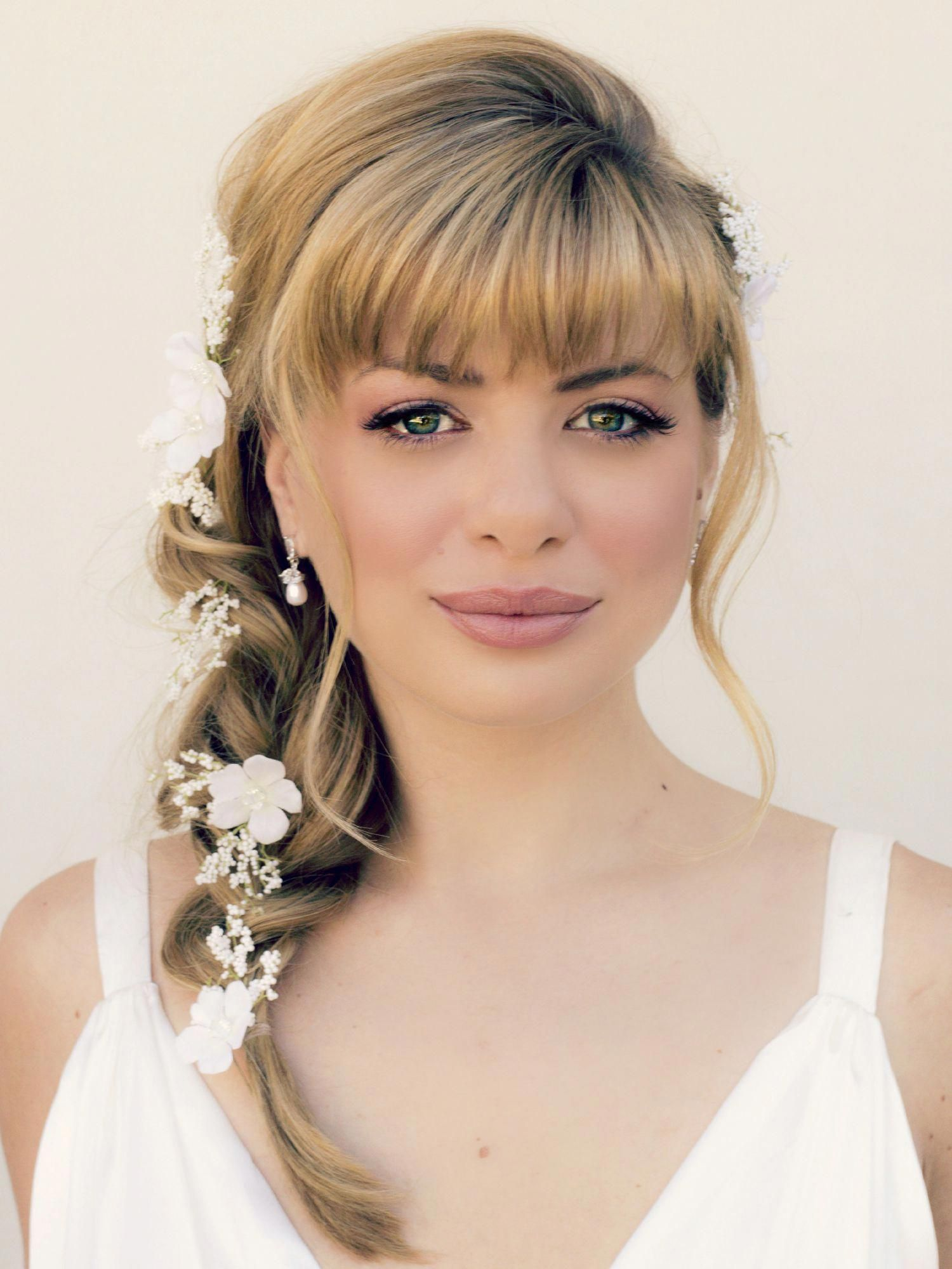 fab medium length wedding hairstyles