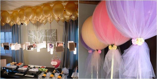 Salve a decoração da sua festa com balões (via Bloglovin.com )