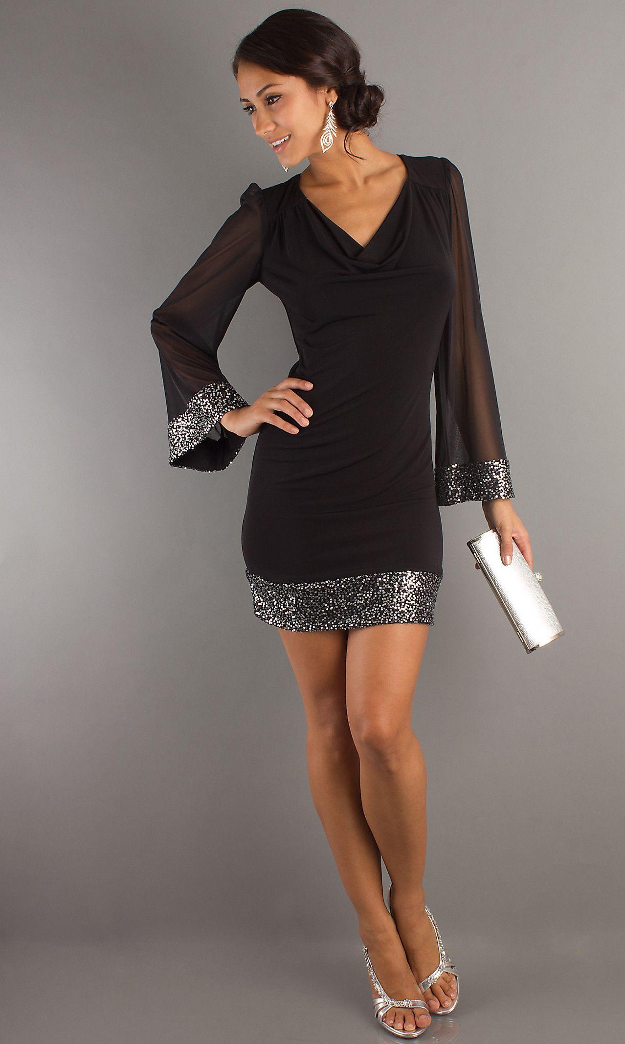Sexy long sleeve short dress sexy black dresses simply dresses