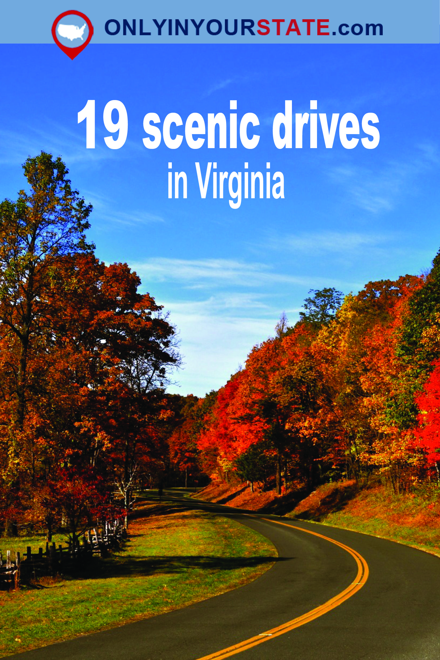 Take These 19 Country Roads In Virginia For An