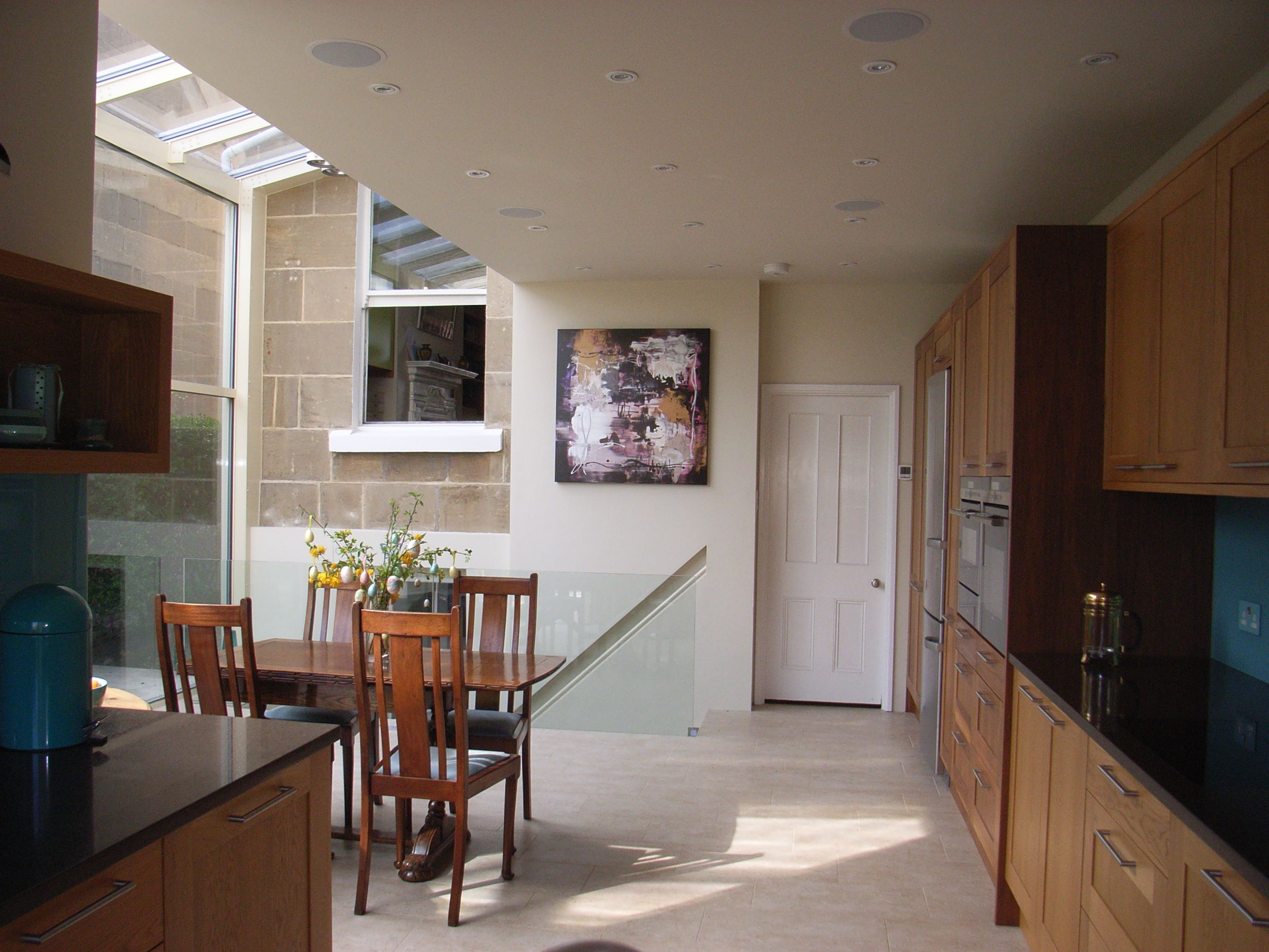 Open Plan Kitchen Diner In Side Return Extension Knocked Through In This Edwardian Property
