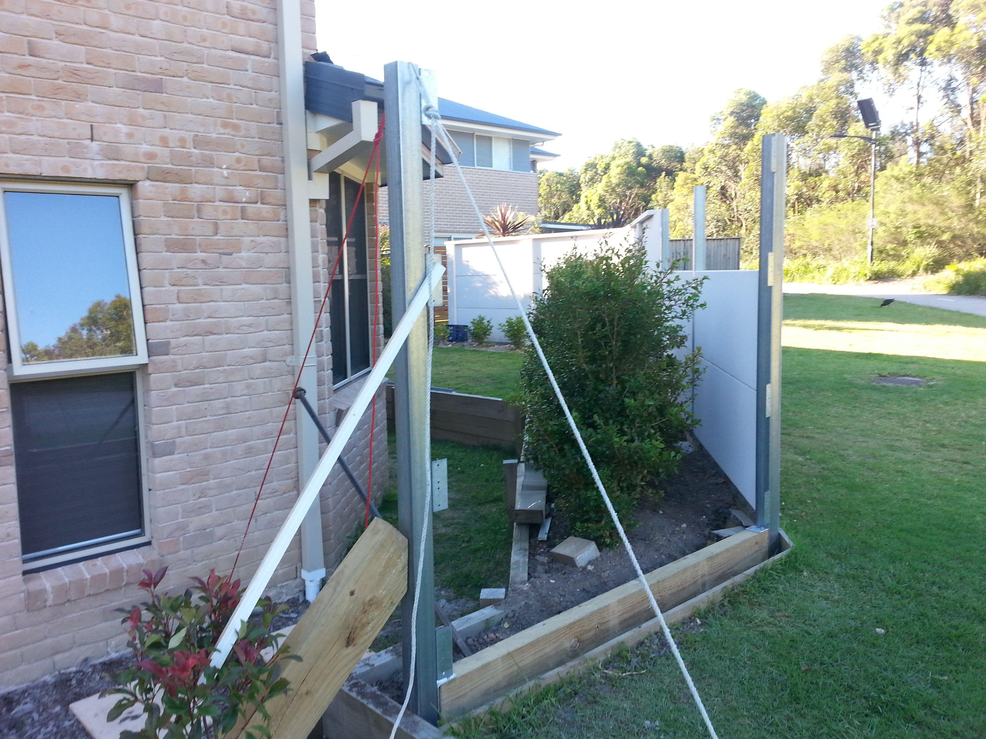 Hebel Wall Posts Boundary Walls Wall House