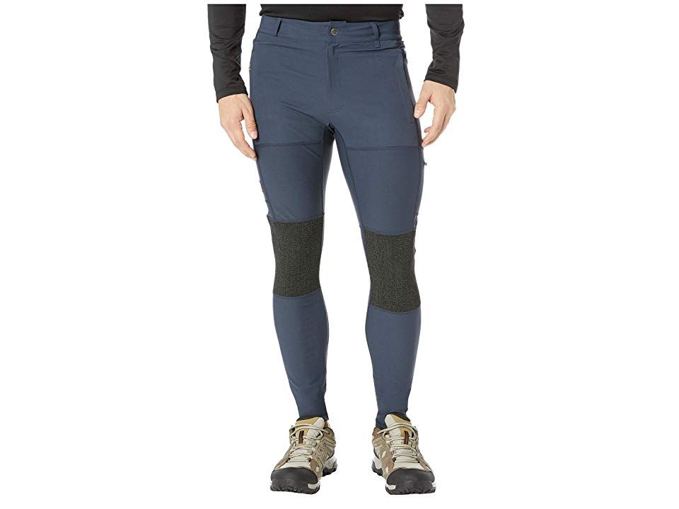 80cca2aad32975 Fjallraven Abisko Trekking Tights (Navy) Men's Casual Pants. Go from the  city to