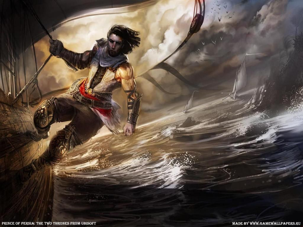 Prince Of Persia The Two Thrones In Action Uz HD Wallpaper