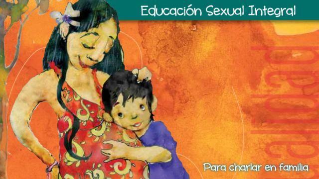 Un cuadernillo para hablar en familia sobre la Educación Sexual Integral