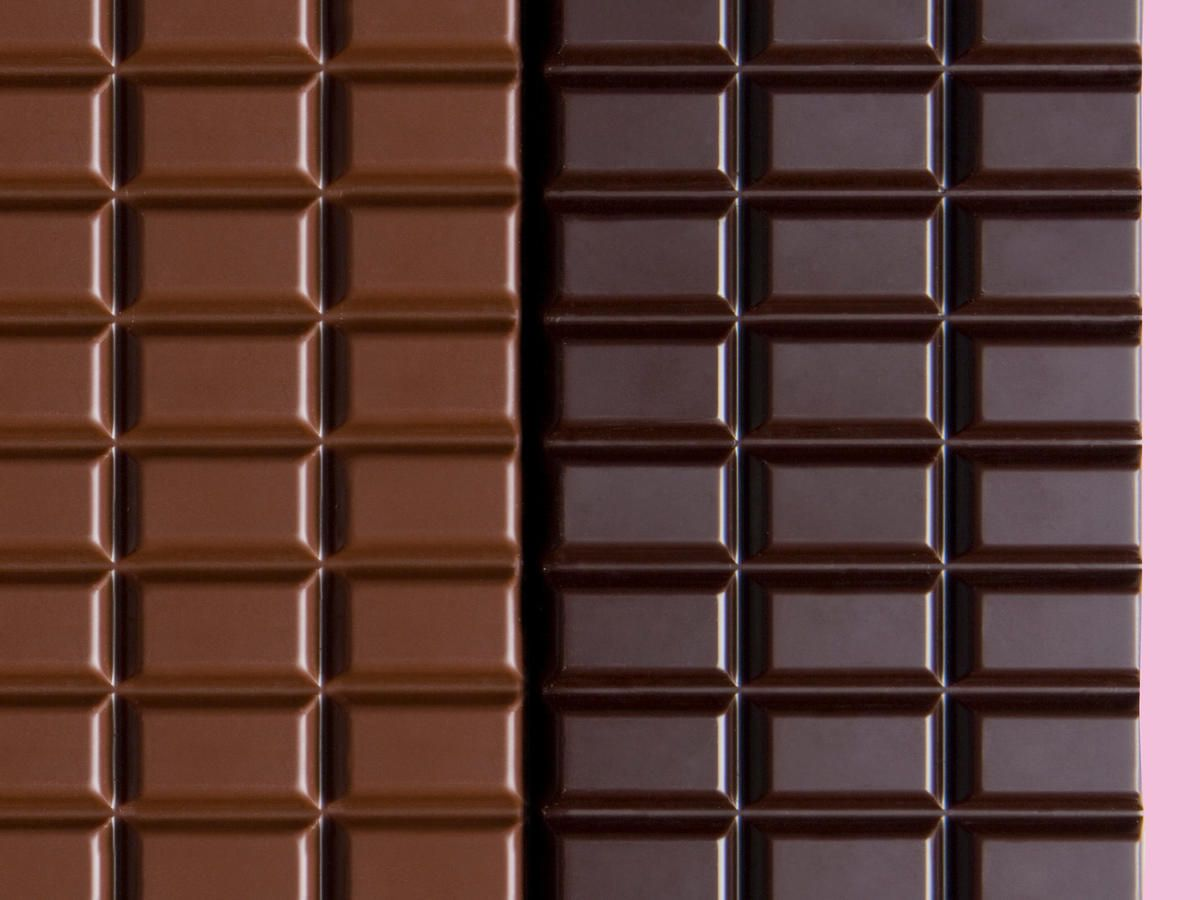 Is Dark Chocolate Really Better For You Than Milk Chocolate We Asked An Rd Chocolate Benefits Dark Chocolate Benefits Chocolate Milk