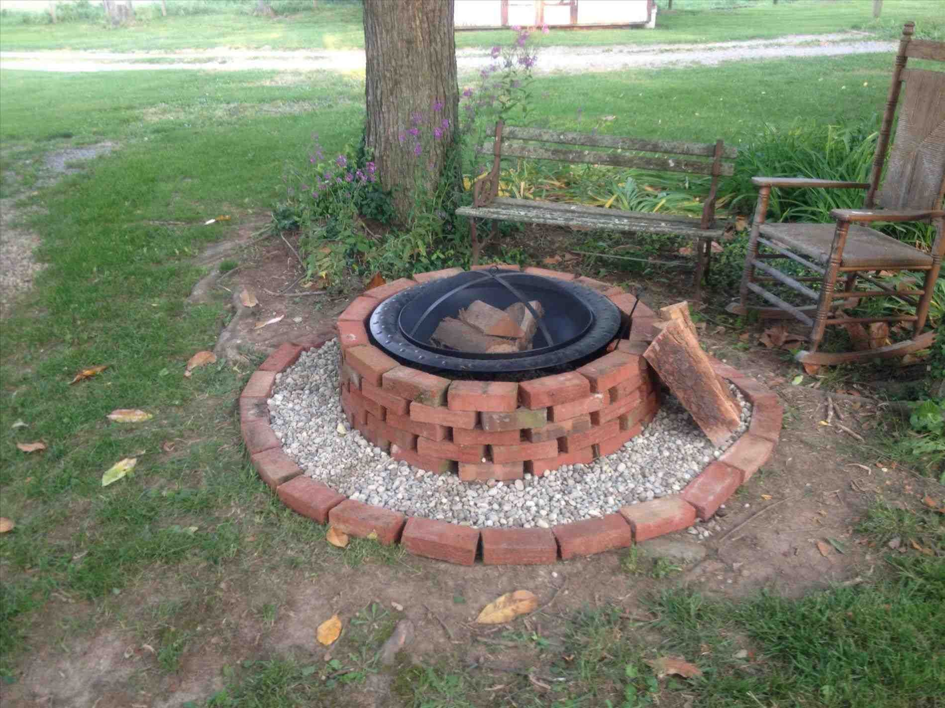 mzing-build-a-fire-pit-with-red-bricks-how-to-home-design ...
