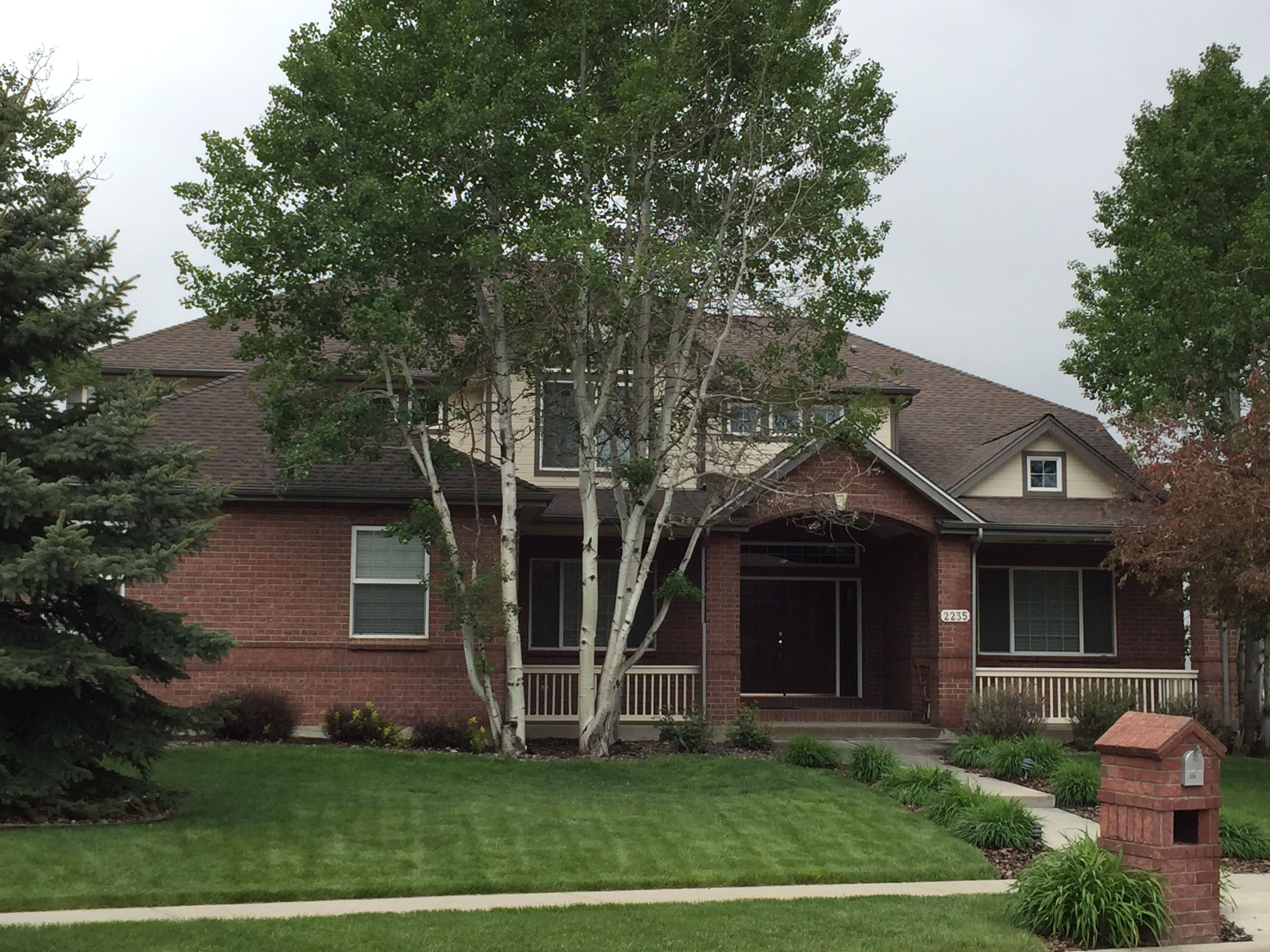 we installed barkwood shingles from the gaf timberline hd shingle