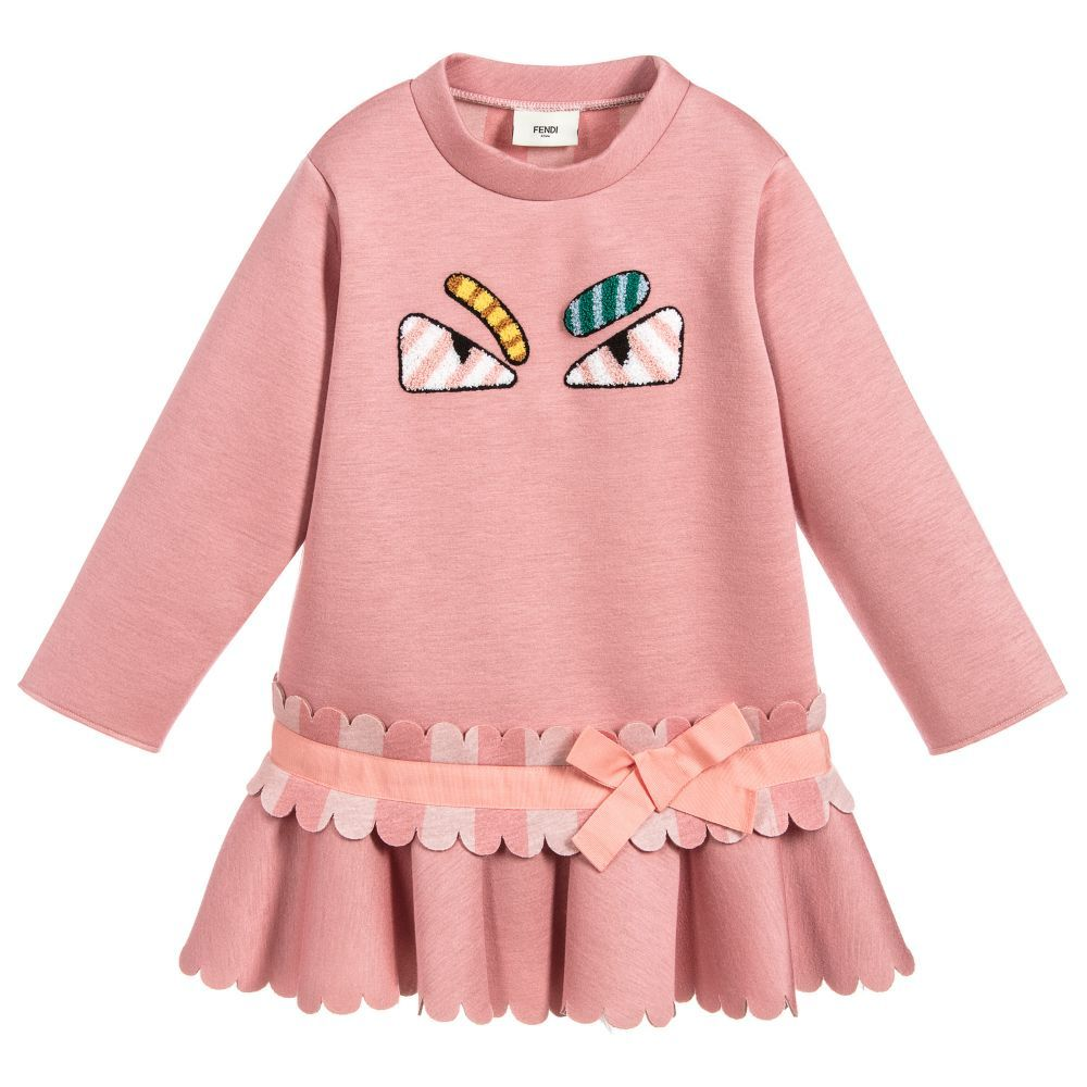e7cc8b650a Fendi - Girls Pink Neoprene Dress