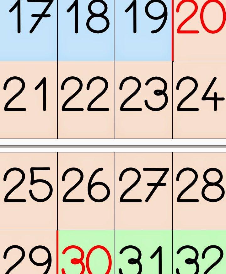 El Patio De Gemma 459 Tarjetas Con Los Números Del 1 Al 100 Tarjetas Numero Para Imprimir Tarjetas Numeros