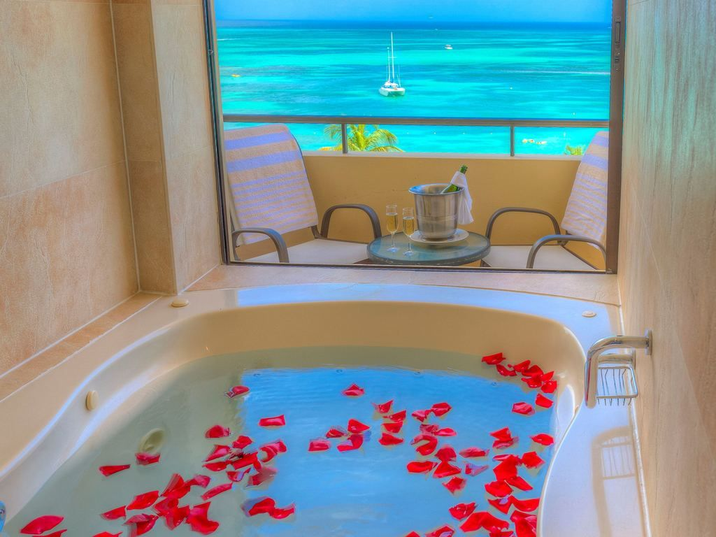 Jacuzzi Pool Deluxe Occidental Grand Aruba Deluxe Jacuzzi Ocean Front Travel Aruba