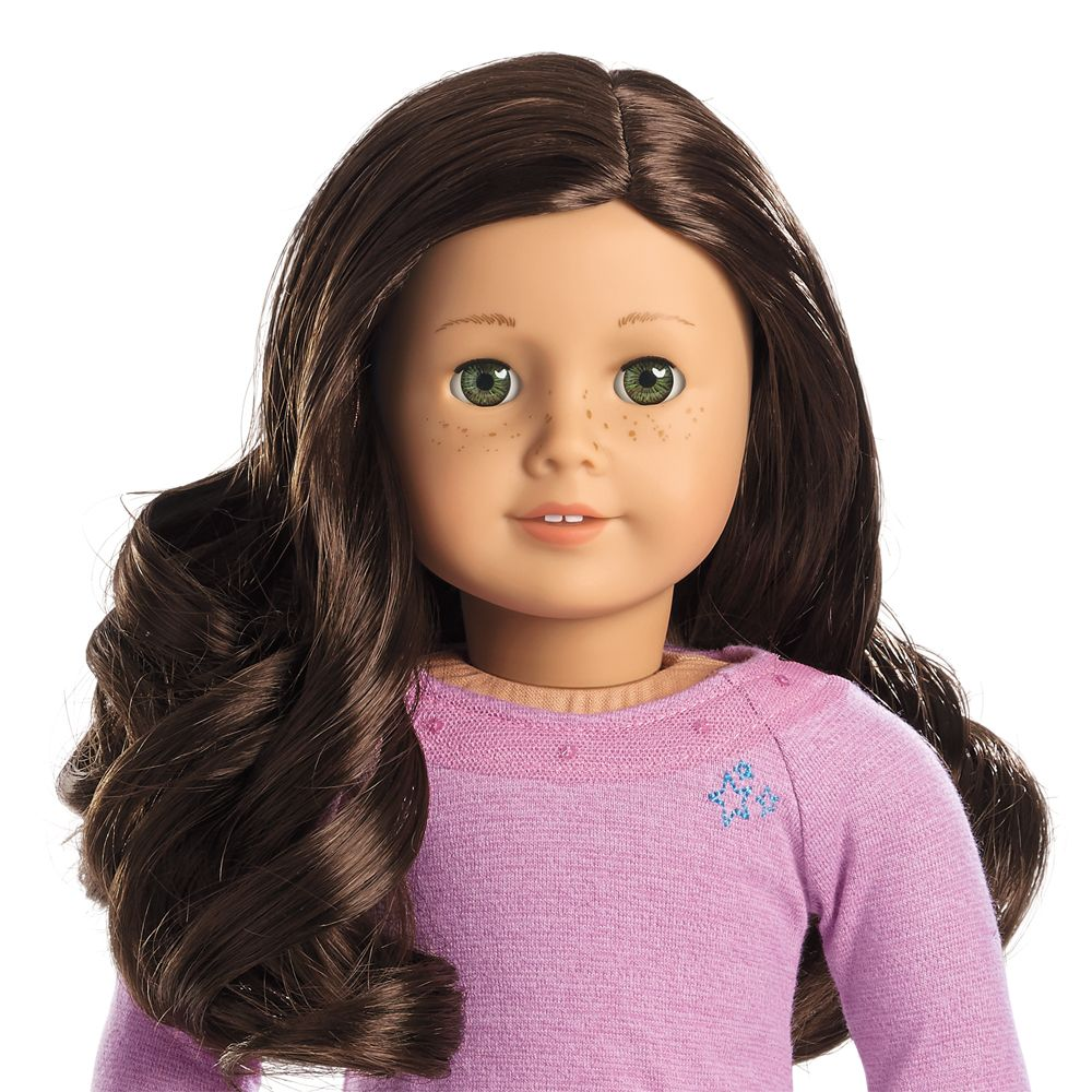 Visual Chart Of Truly Me Dolls Custom American Girl Dolls Brown