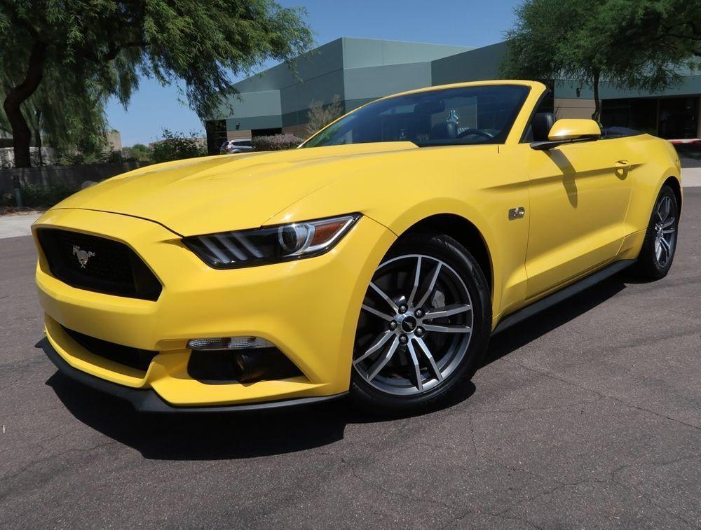 Ebay 2017 Ford Mustang Gt Premium Convertible Mustang Gt Premium