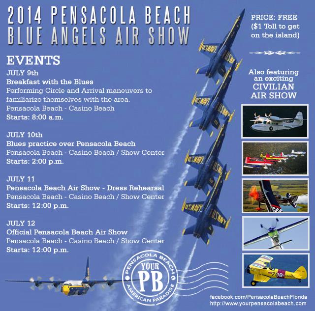 2014 Pensacola Beach ScheduleBlue Angels Pensacola