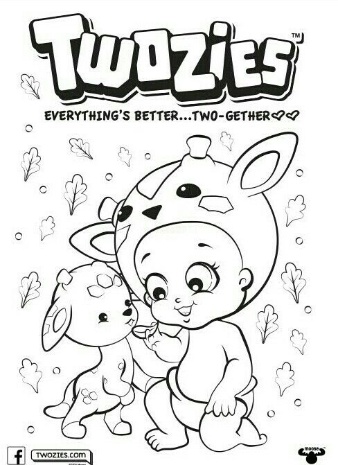 Pin By Leticia Muhana On Twozies Coloring Pages Baby Drawing Baby Clip Art