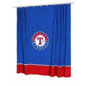Rangers Shower Curtain Chicago Cubs Mlb Chicago Cubs Baseball