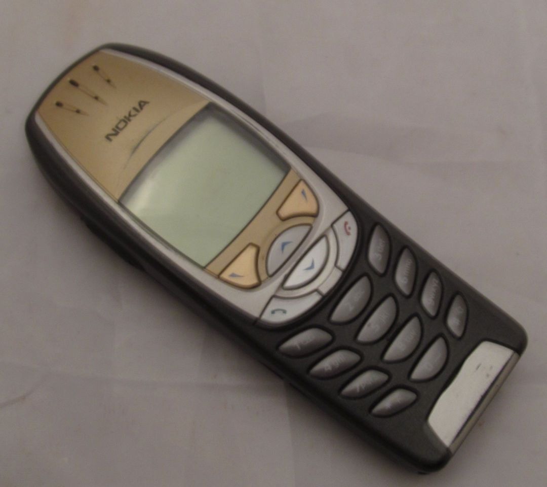 Nokia 6310i mobile cell phone vintage old retro classic gold the nokia 6310i is a mobile phone from nokia first introduced at the cebit fair in biocorpaavc Choice Image