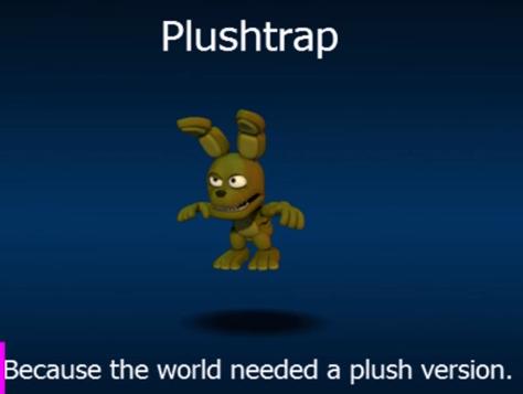 FNaF World Plushtrap!
