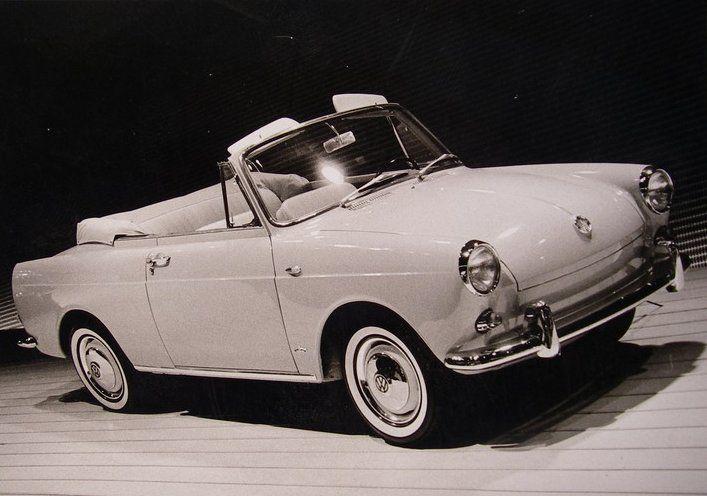 Og 1961 Volkswagen Vw 1500 Notchback Cabriolet Prototype