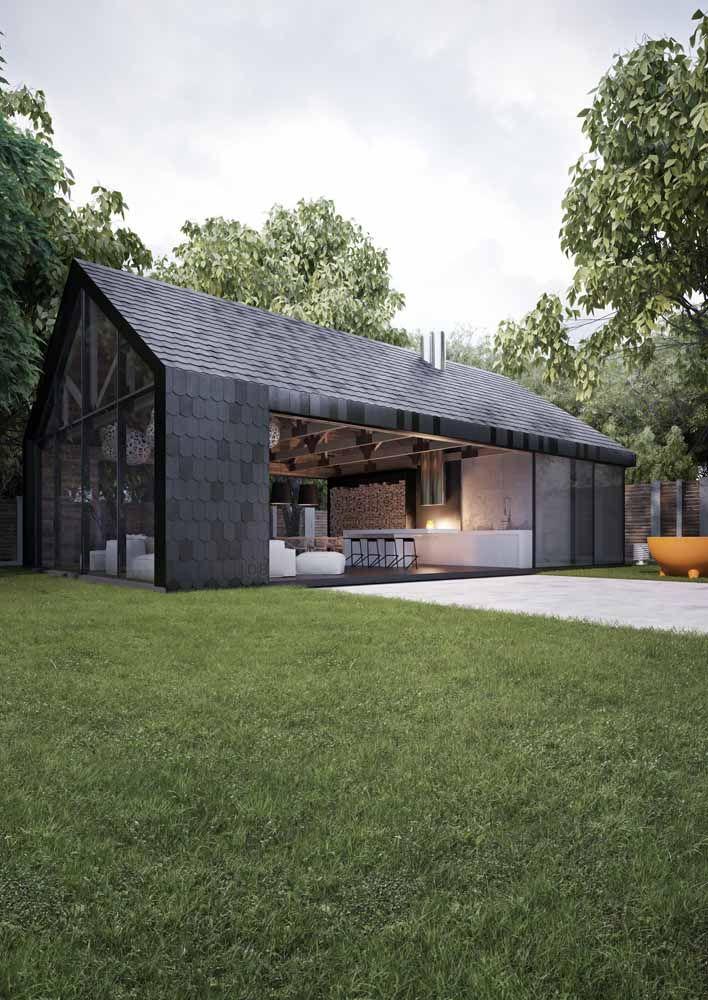 Revestimento Para Fachada Conheca Os Principais Materiais Exteriores De Casas Design De Casa Casas Pre Fabricadas