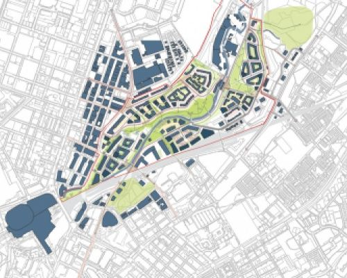 Lower Irk Valley Diagram Development The Neighbourhood