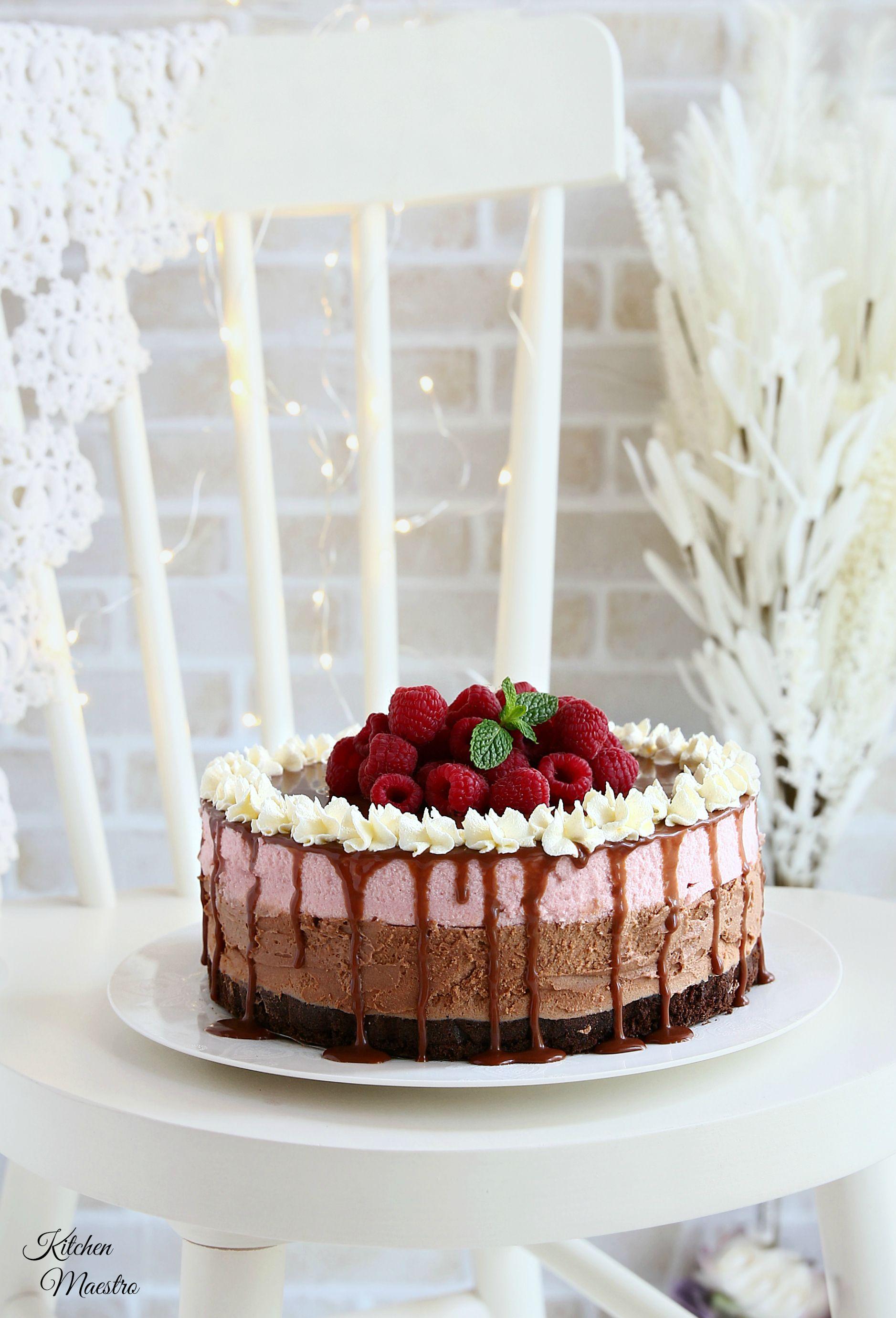 Chocolate Raspberry Mousse Cake Chocolate Raspberry Mousse Cake Raspberry Mousse Cake Arabic Dessert