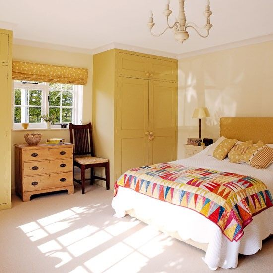Bedroom Yellow Bedroom Interior With Furniture Egyptian Bedroom Decor Bedroom Carpet Color Ideas: How To Decorate With Yellow And Orange