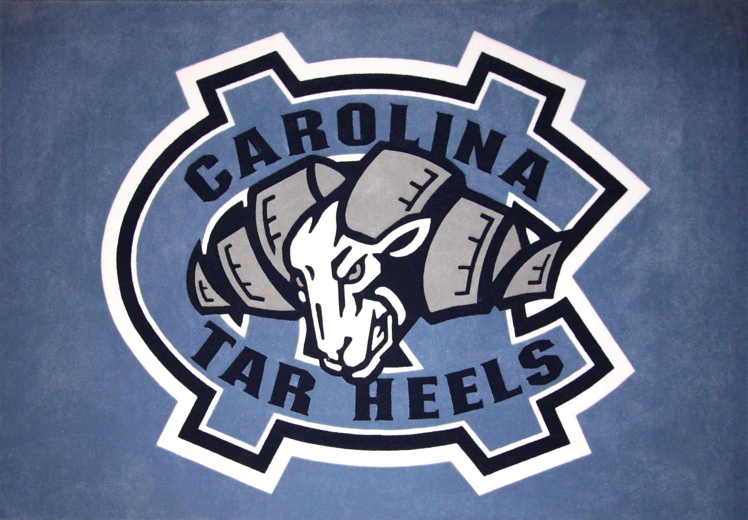 Stockdale North Carolina Tar Heels 4 X Decal