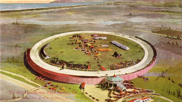April 8: The Los Angeles Motordrome opens the board track era on this date  in