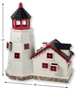 Love This But Not For 119 Llbean Lighthouse Advent Calendar Holiday Decor Seasonal Decor Holiday
