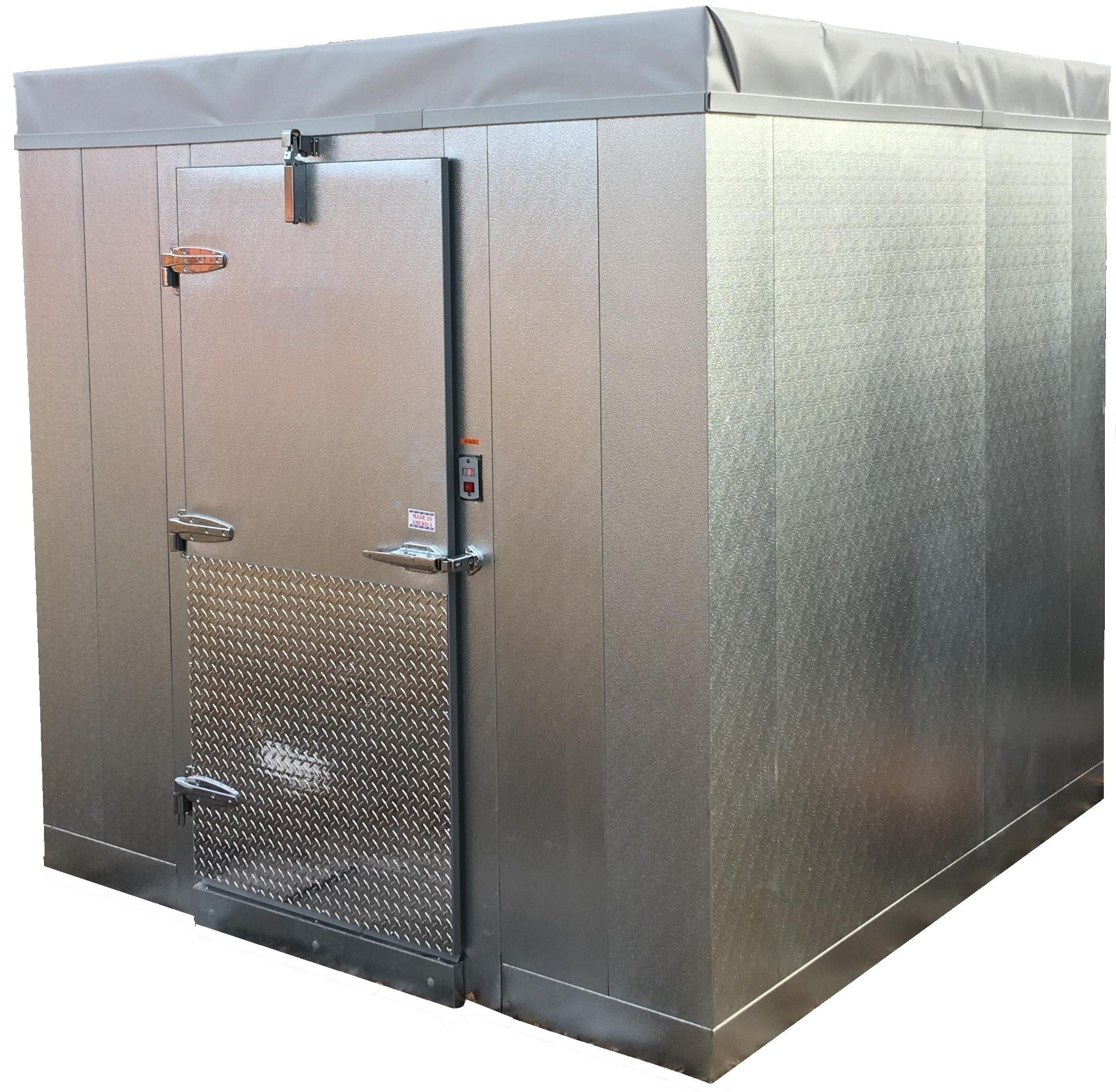 Coolbot Walk In Cooler Front View Walkin Cooler Walk In Freezer Cold Room