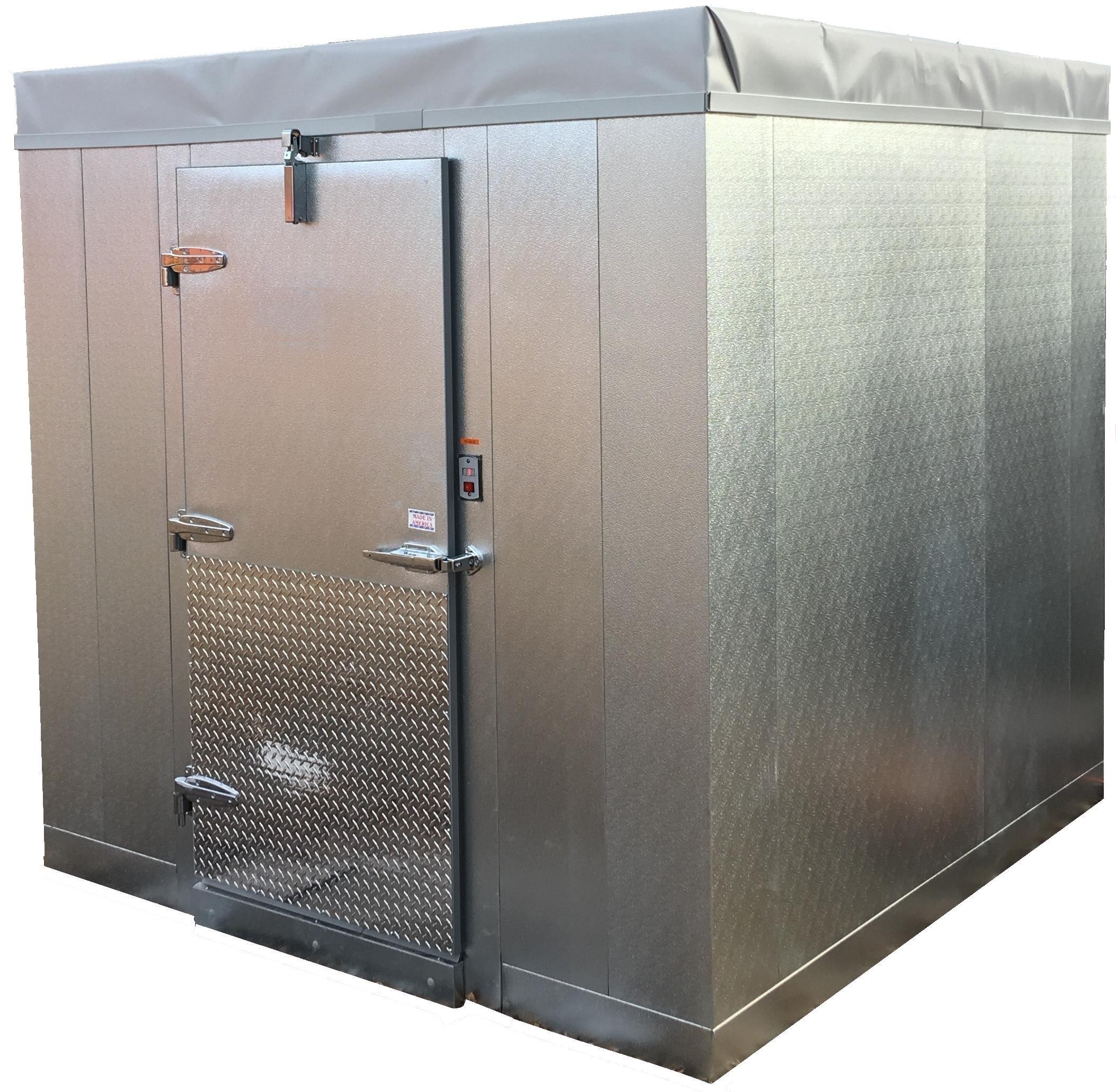 Coolbot Walk In Cooler Front View Walkin Cooler Walk In Freezer Cold Room