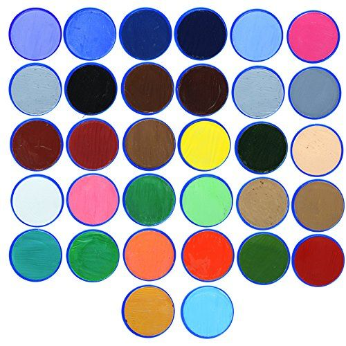 Snazaroo Face Paint 18ml Individual Color 1.99