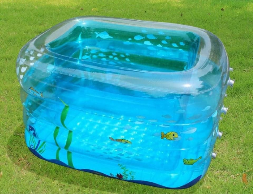 Plastic Garden Pool Make Family Atmosphere More Cheerful Plastic Swimming Pool Children Swimming Pool Inflatable Pool