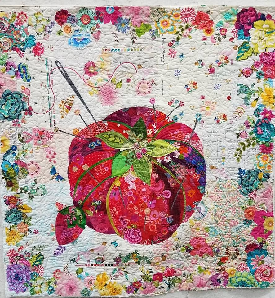 Newest Collage Quiltpincushion Pattern By Laura Heinene