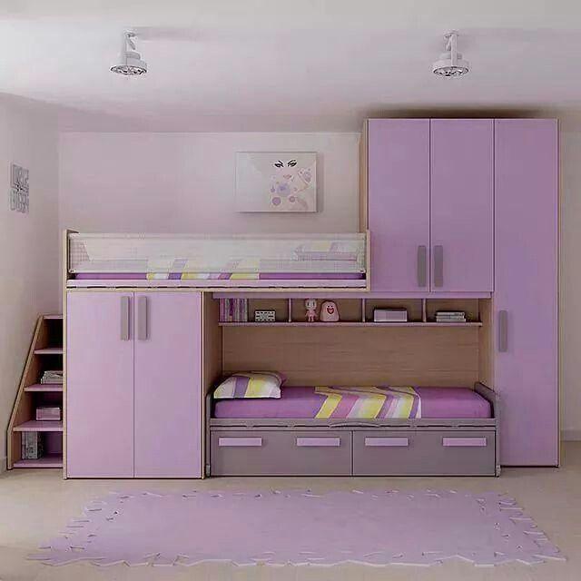 Para espacios pequeños Home decor Pinterest Bedrooms, Kids