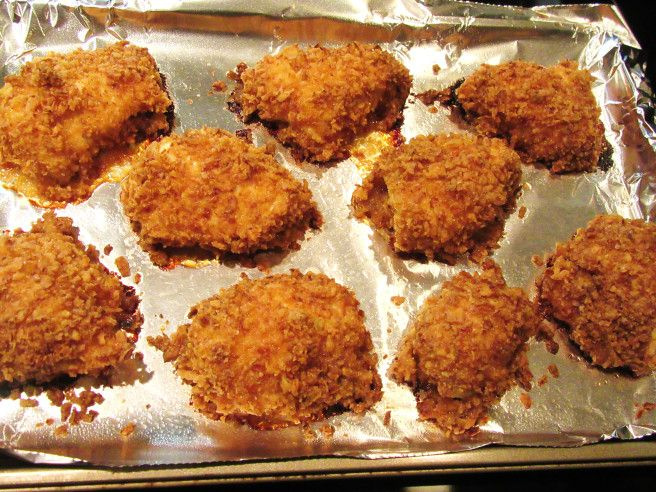 3-ingredient crunchy chicken