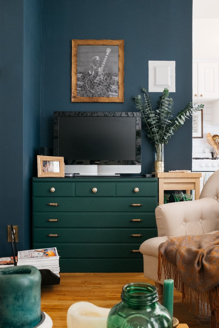 the 6 paint colors i'm obsessing over hunter green