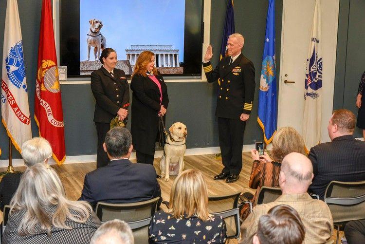H.W. Bush's former service dog Sully has a new job