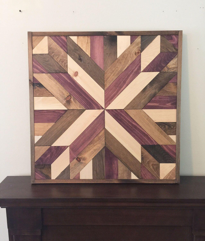 Reclaimed Wood Wall Art Part - 29: SALE* Reclaimed Wood Wall Art, Rustic Wall Decor, Farmhouse Decor, Modern  Wall