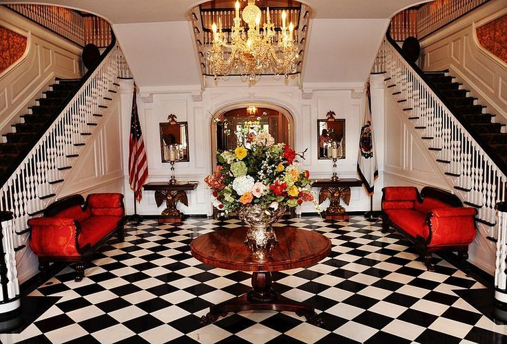 Black And White Checkered Tile Floor Yes Plz The Home Pinterest