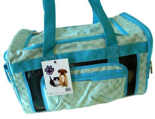Just Paws Pet Carrier Duffle - Luxurious pet traveling bag [Misc.] - http://handbags.kindle-free-books.com/just-paws-pet-carrier-duffle-luxurious-pet-traveling-bag-misc/