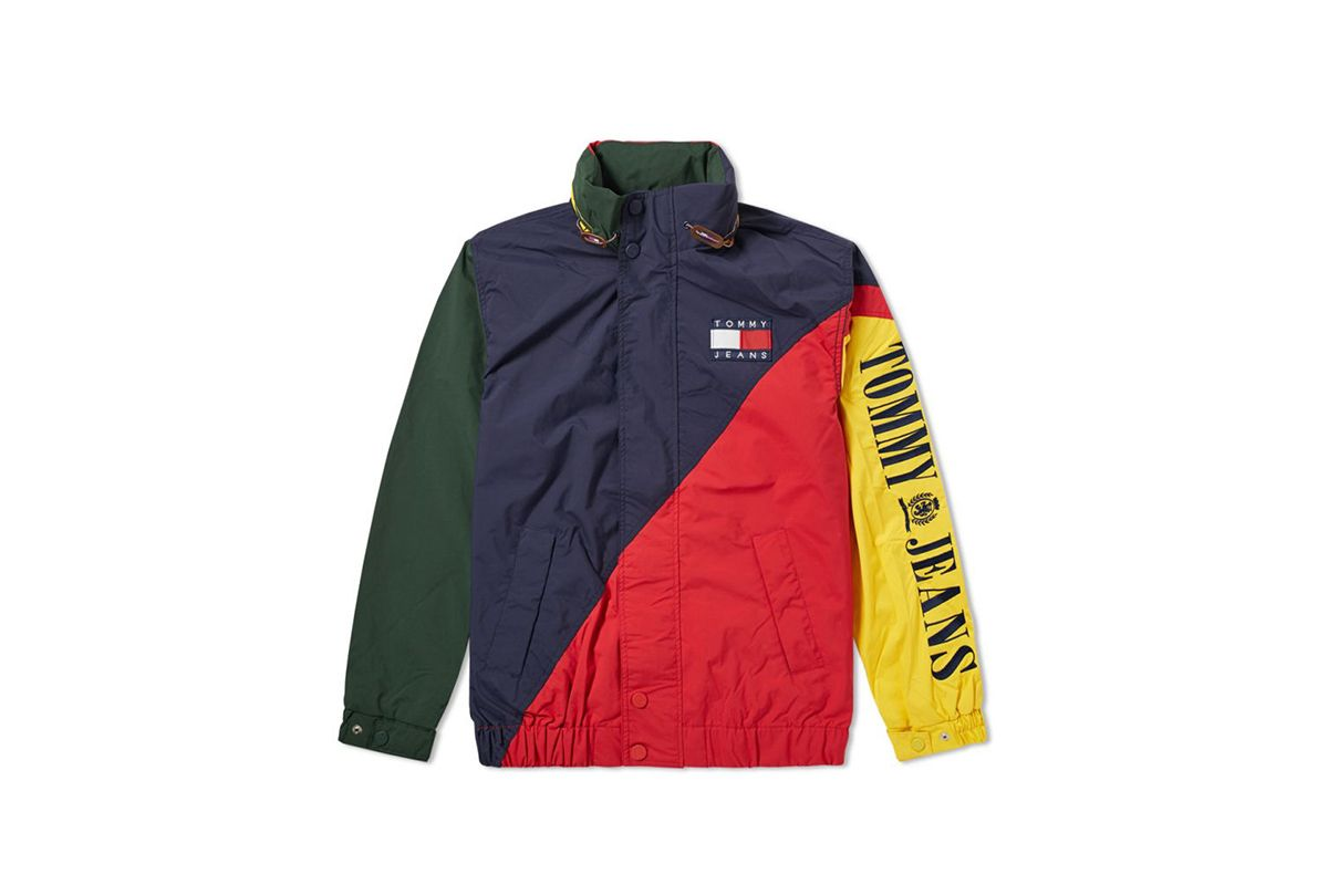 Tommy Hilfiger Takes It Back To The 90s With Tommy Jeans Capsule Tommy Jeans Jackets Sailing Jacket [ 800 x 1200 Pixel ]