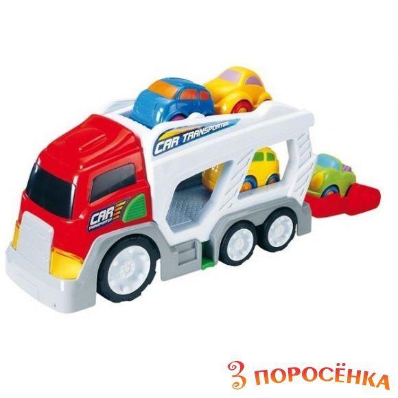 Игрушка машина транспортер транспортер скребковый тсн 160б