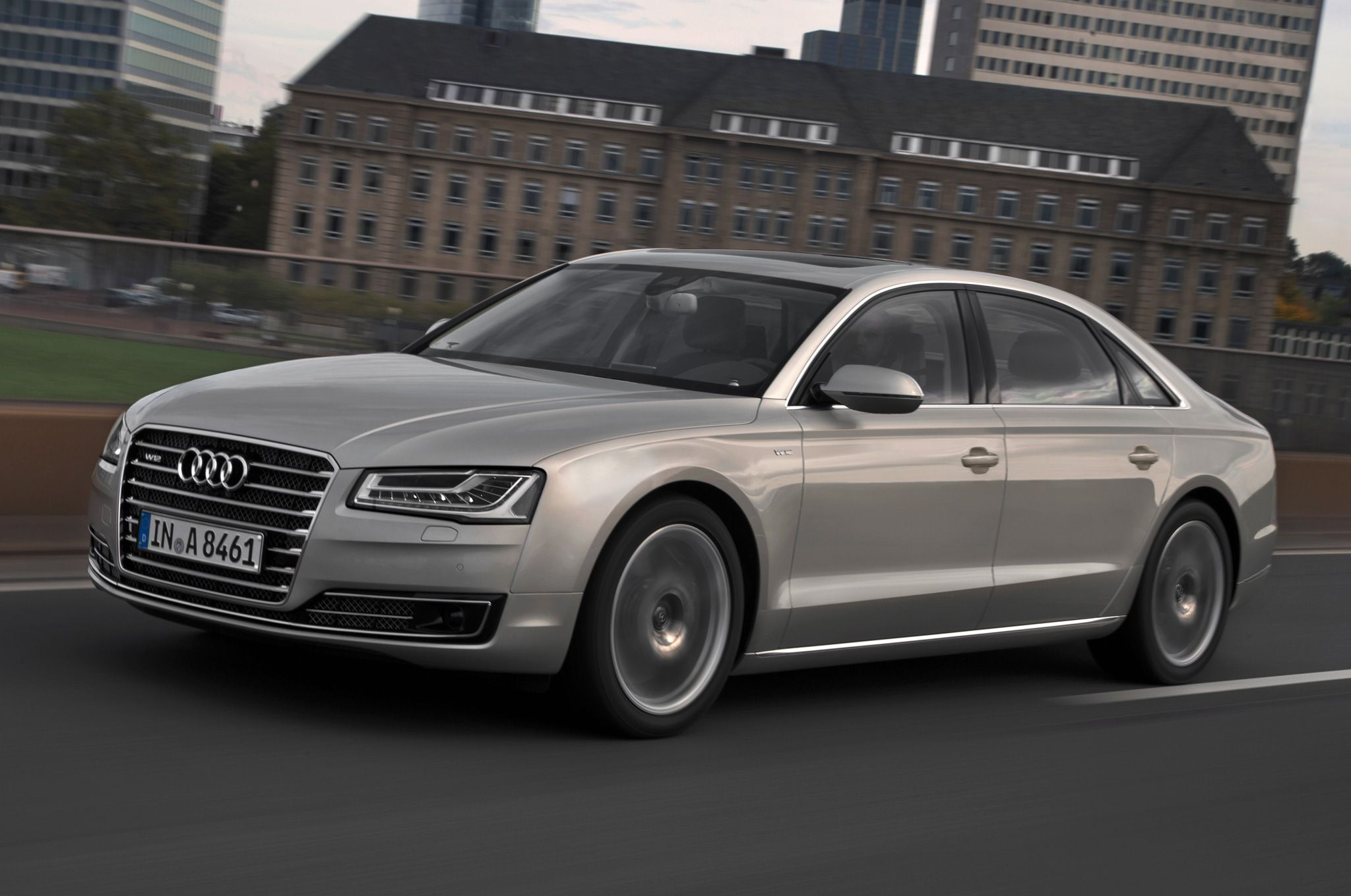 2015 Audi S8 Sedan Concept HD Wallpapers