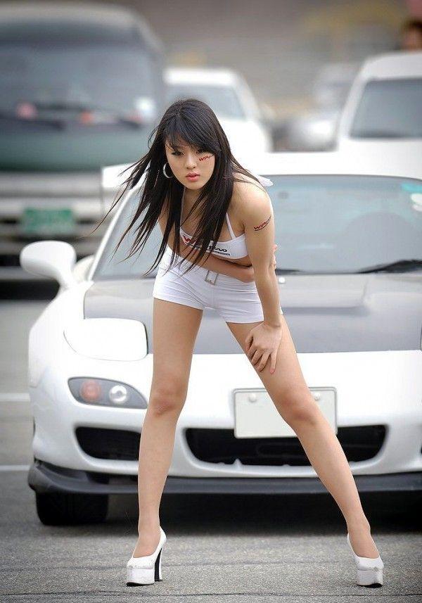 Korean Car Girls Google Search Korean Race Model Pinterest