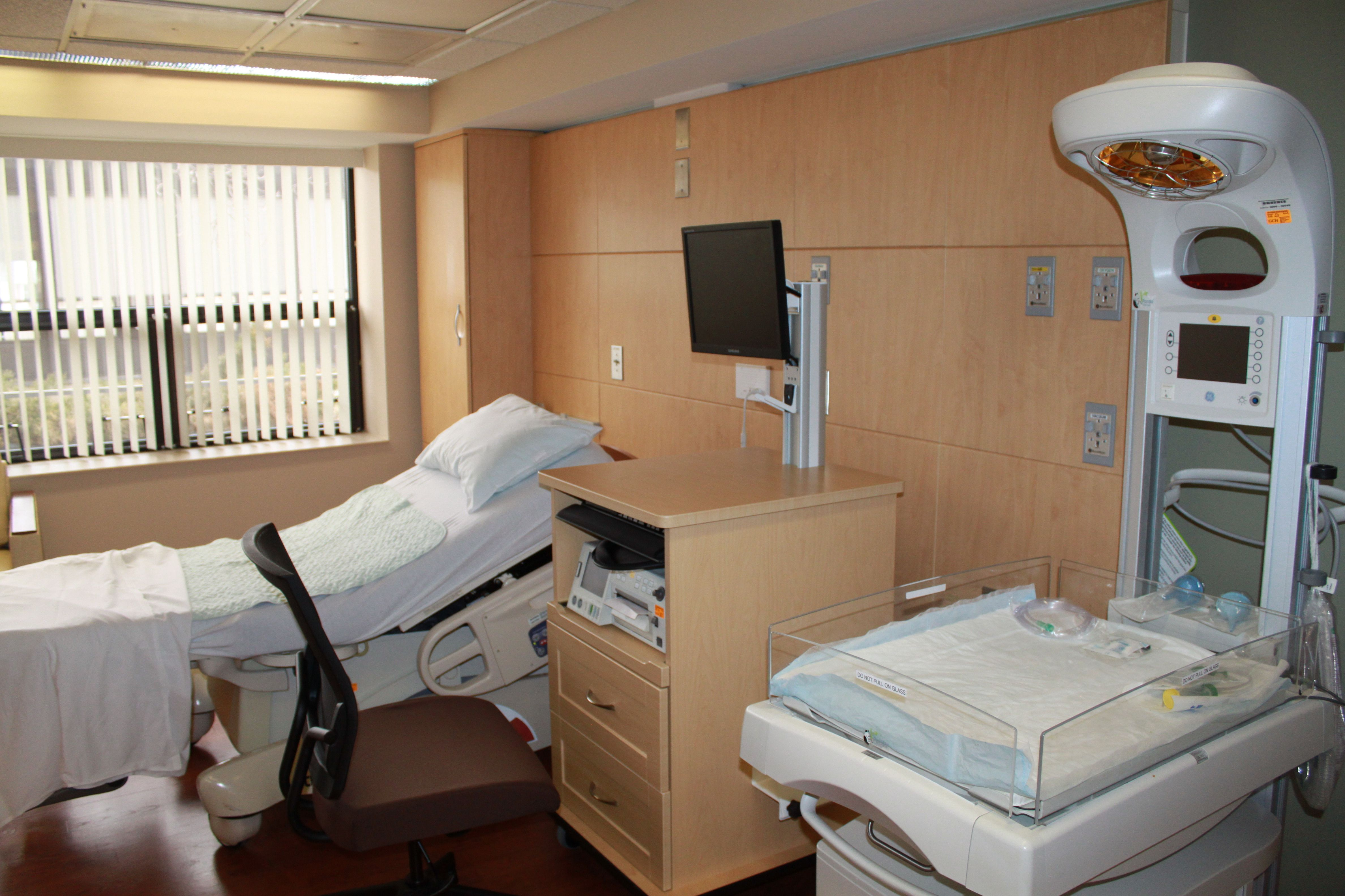 A Room At The Garden City Hospital Birthing Center.