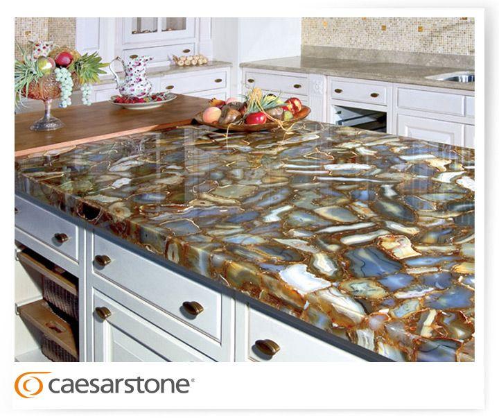 Used Kitchen Cabinets Nj: 8310 Brown Agate; Kitchen, Countertop, Table, Quartz