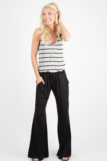 10c7c0594b8 Stripe Jumpsuit by PEYTON JENSEN